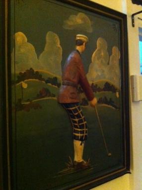 3D golf art