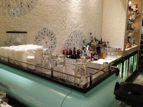 Coffee machine and the Bar