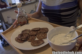 Mmmmmm fluffy canadian pancakes