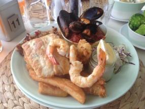 Trigg Island Seafood Plate