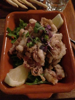 Salt pepper calamari