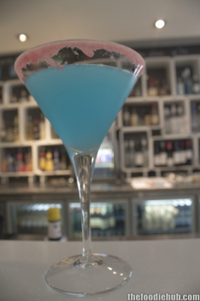 "Lemon blueberry martini ""The Esther"""