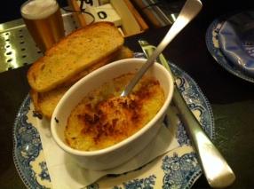 Artichoke cheese gratin