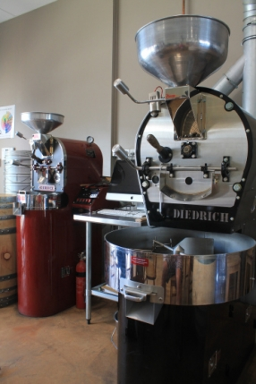 Coffee roasters controlled by an iMac