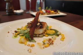 Snapper with pancetta