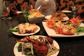 Clockwise Chicken Biryani, Aachari Rabbit, Tandoori Lobster, Tandoori Lamb Chops, Murgh Afgani Tikka Chicken 2 2