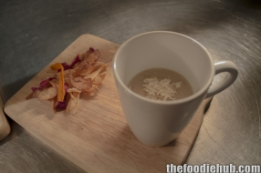 Bridgetown chestnut soup root vegetables