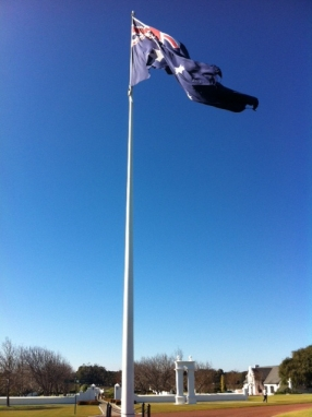 Australian flag Voyager