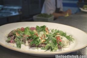 Wagyu bresaola beet salad