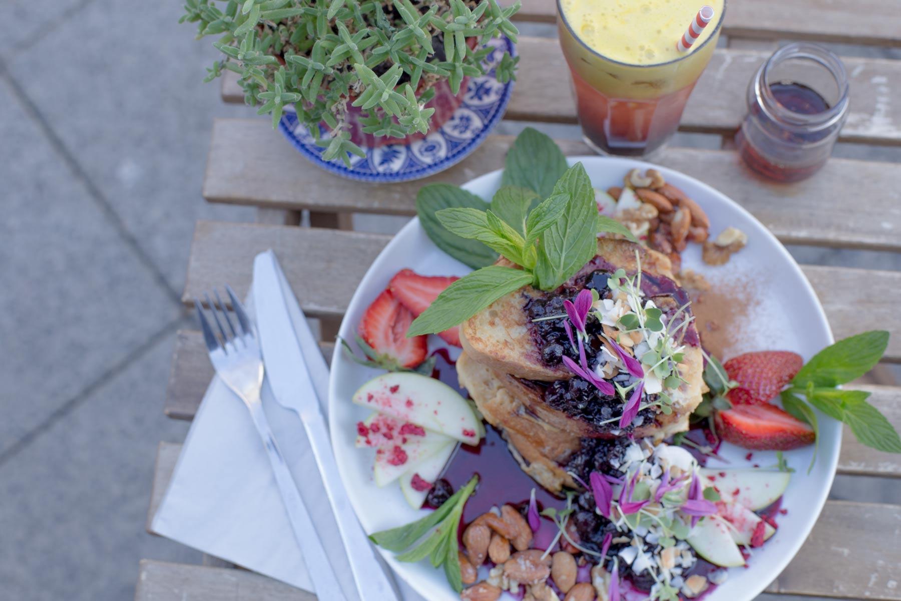 Cafe Flora Dinner Menu