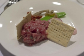Beef Tartare with Red Radish Mayonnaise 3
