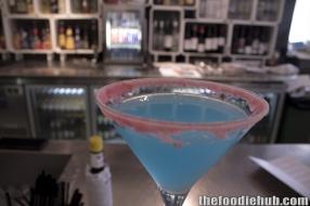 "Lemon blueberry martini ""The Esther"""