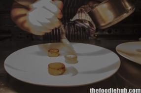 Dry aged duck breast, white turnip WA kiflers