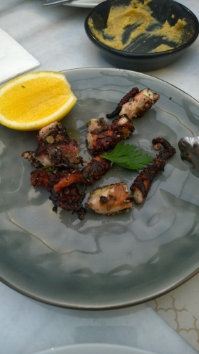 Grilled Oregano Lemon Octopus