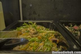 Fresh buffet salad