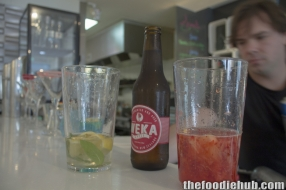 mixing-the-apple-cider-martini-kiwi-fruit-pavlova-martini