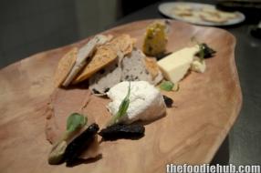 Optional cheese platter