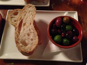 Bread olives