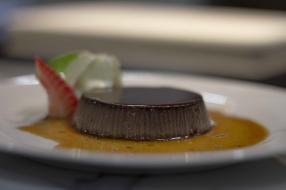 Amaretto and Cocoa Bunet Pudding