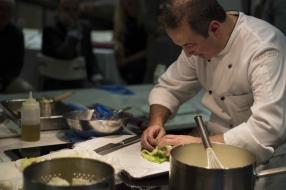 Chef Andrea Tranchero